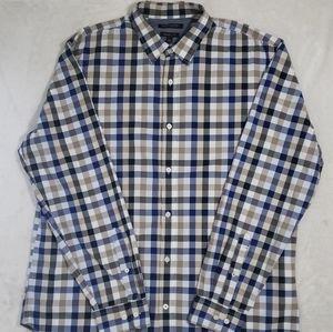 BANANA REPUBLIC Grant Fit Button Down Shirt Men's